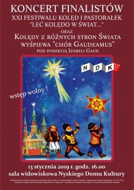 Koncert Finalistów XXI festiwalu kolęd i pastorałek